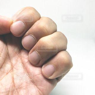 整った爪の写真・画像素材[1513691]