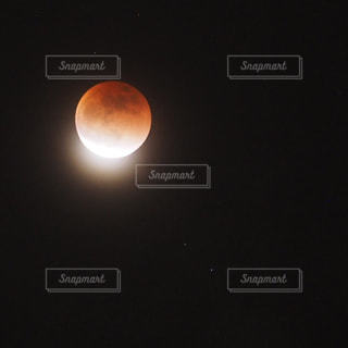 皆既月食の写真・画像素材[987325]