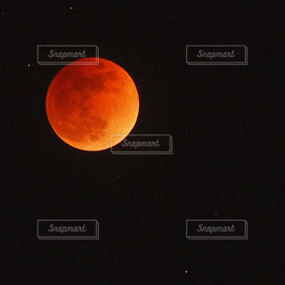 皆既月食の写真・画像素材[987327]