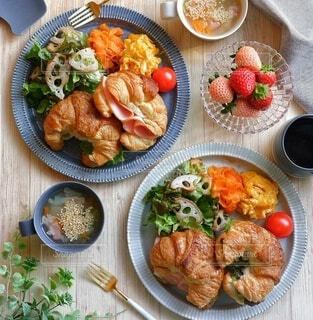 ワンプレート朝食の写真・画像素材[4441120]