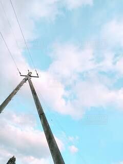 空の雲のクローズアップの写真・画像素材[4441075]