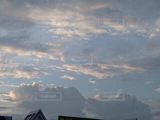 空の雲の群の写真・画像素材[4643969]
