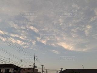 空の雲の写真・画像素材[4655956]