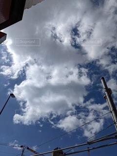 雲空の写真・画像素材[4824468]