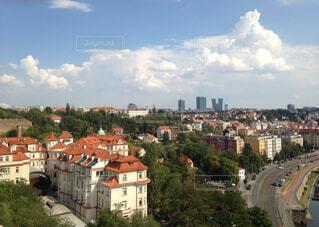 チェコの街の写真・画像素材[4444844]