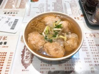 本場の雲呑麺の写真・画像素材[994081]