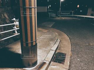 住宅街の暗闇の写真・画像素材[1534400]