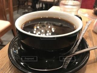 ブラックコーヒー1杯の写真・画像素材[2505447]