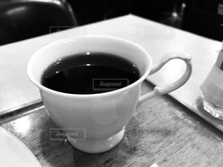 昭和なコーヒーカップの写真・画像素材[2979652]