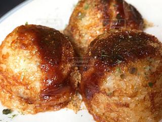 冷凍食品のタコ焼きの写真・画像素材[3163525]