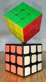 ルービックキューブの写真・画像素材[4444802]