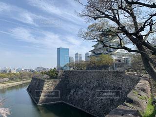 大阪城の写真・画像素材[4448996]