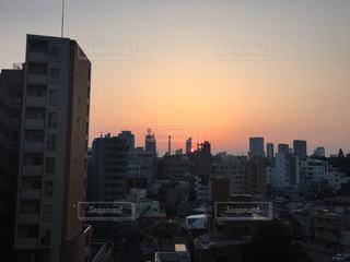 夕日の写真・画像素材[190267]