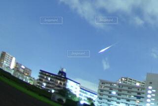 火球をパチリの写真・画像素材[4455780]