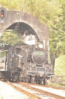 蒸気機関車の写真・画像素材[4522481]