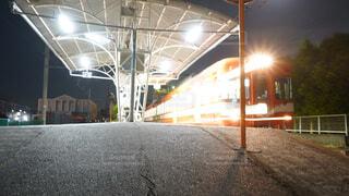 電車がホームに停まっているの写真・画像素材[4455733]