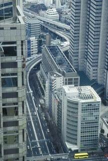 都市の高い建物の写真・画像素材[4633416]