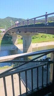 日本の風景 橋と川の写真・画像素材[4533513]