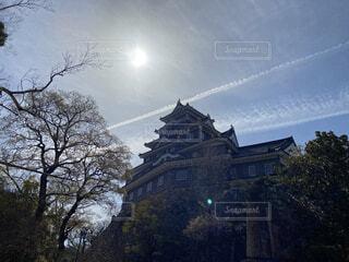 城のある風景。の写真・画像素材[4461323]