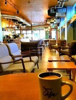 ホッとする瞬間をコーヒーと共にの写真・画像素材[4460987]