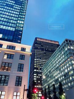 都市の高層ビルの写真・画像素材[1483546]