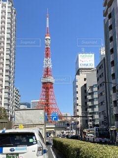 東京タワーの写真・画像素材[4470033]