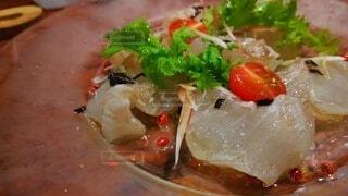 鮮魚のカルパッチョの写真・画像素材[4492319]