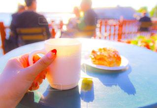 海辺のカフェの写真・画像素材[201506]