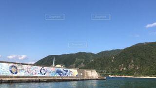 山と海の写真・画像素材[4471174]