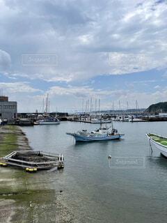 漁港の午後の写真・画像素材[4565851]