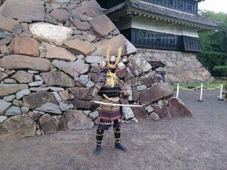 鎧武者の写真・画像素材[4528807]
