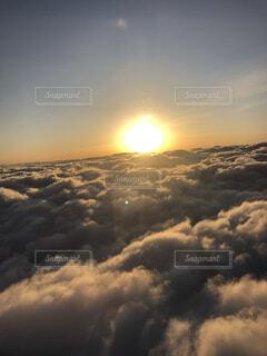 空の雲の群の写真・画像素材[4474655]
