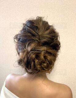 ウエディングヘアスタイルの写真・画像素材[4683281]
