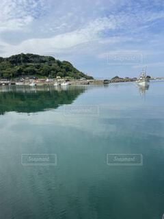 港町の穏やかな風景の写真・画像素材[4472228]