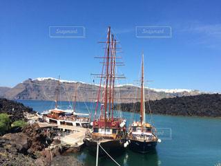 ギリシャサントリーニ島の写真・画像素材[561628]