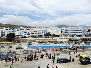 ギリシャの港の写真・画像素材[1173183]