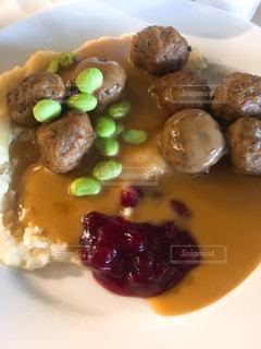 IKEAご飯の写真・画像素材[2139555]