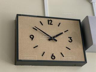 懐かしいレトロな時計の写真・画像素材[4535003]