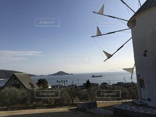 小豆島のジブリの写真スポットで撮った一枚。の写真・画像素材[4524376]