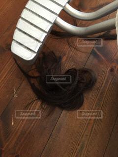 木製の床に靴を置くの写真・画像素材[4514530]