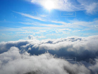 雲海の写真・画像素材[4476925]