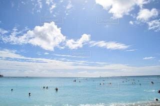 青空と海の写真・画像素材[4486161]