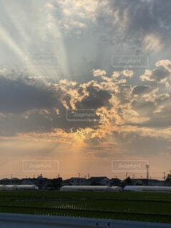 光芒の写真・画像素材[4531121]