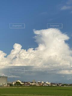 今日の積乱雲の写真・画像素材[4566022]