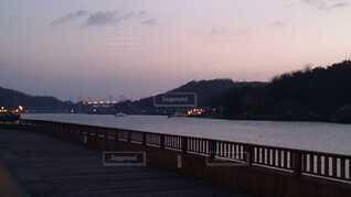 元日の朝の尾道水道です  もうすぐ初日の出ですの写真・画像素材[4480739]