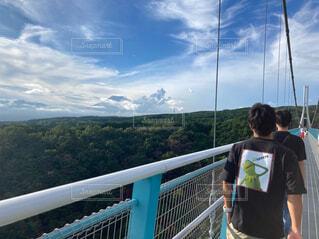 青い空と雲そして富士山けろっの写真・画像素材[4482490]