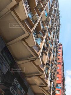 香港のビルの写真・画像素材[759399]