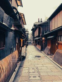 京都らしい素敵な街並みの写真・画像素材[4563217]