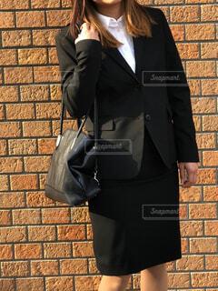 スーツで就活の写真・画像素材[4613821]