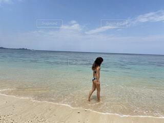 海とビキニの写真・画像素材[4520453]